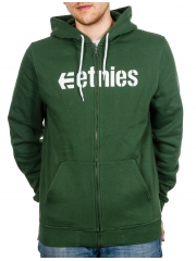 Bluza Etnies Corporate Zip Fleece Forrest