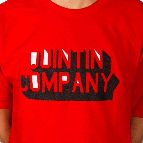 Koszulka Quintin RNDM Red