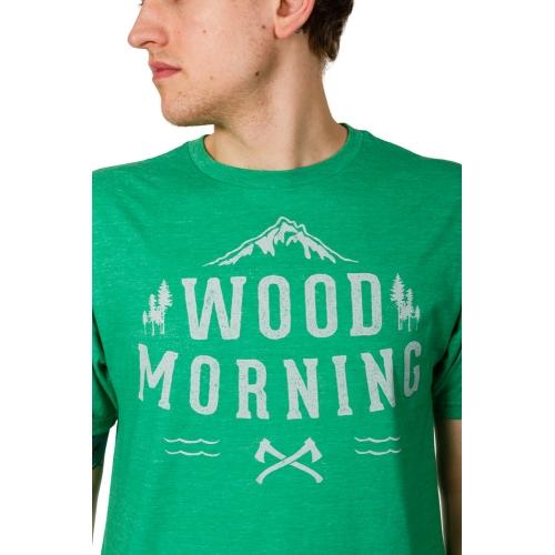 Koszulka Transmission Wood Morning Green