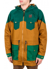 Kurtka Turbokolor Ewald Plus Mustard / Dark Green