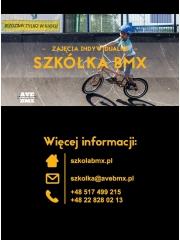 Szkółka BMX - zajęcia indywidualne