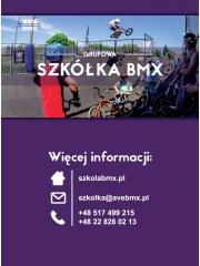 Szkółka BMX - zajęcia grupowe