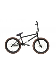 Rower BMX Division Brookside Black / Raw / Brown