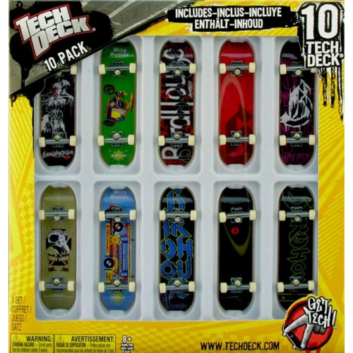 Zestaw 10 pack Tech Deck Birdhouse