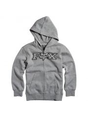 Bluza Fox Legacy Fox Head Zip Hoodie Heather Graphite