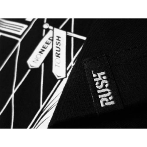 Koszulka Rush Stickers Black