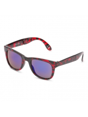 Okulary Vans Foldable Spicoli Transparent High Risk / Red Tortoise