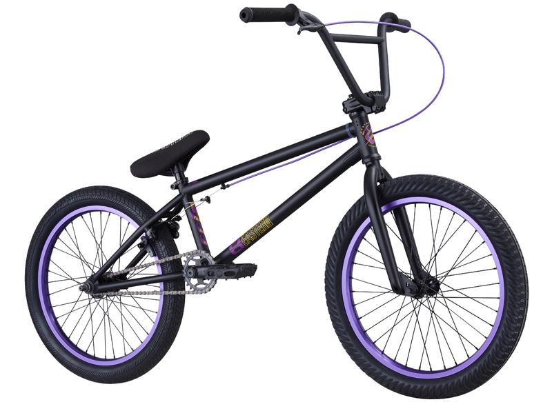 Matte Black And Purple Bmx Bmx Bikes Purple And Black