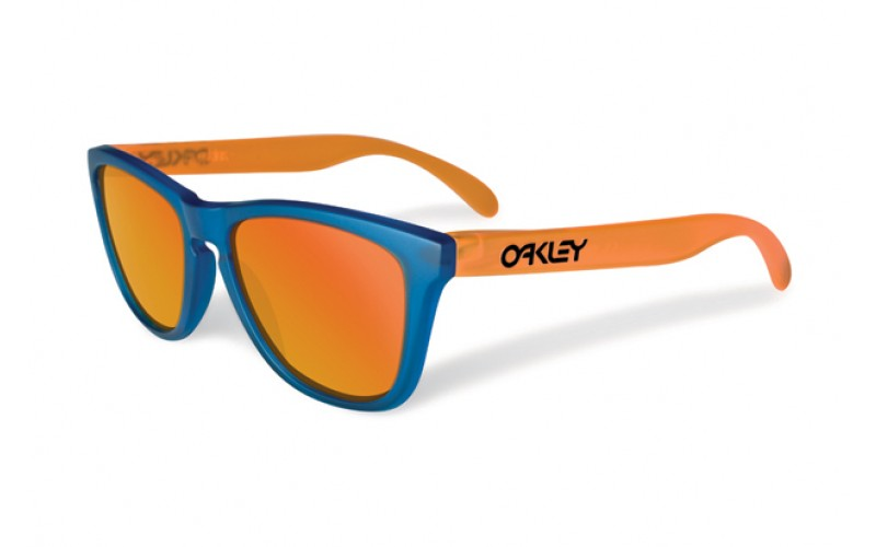 78edc868e1 Oakley Frogskins Orange And Blue « Heritage Malta